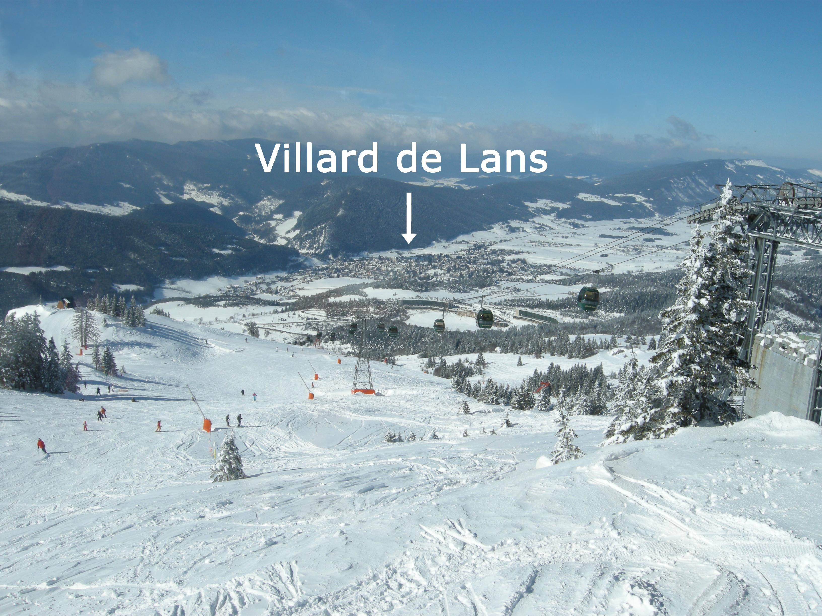 Fiche h bergement for Villard de lans piscine
